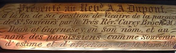 Image 27 detail horloge guernsey