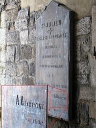 Image 28 plaque eglise st julien southampton